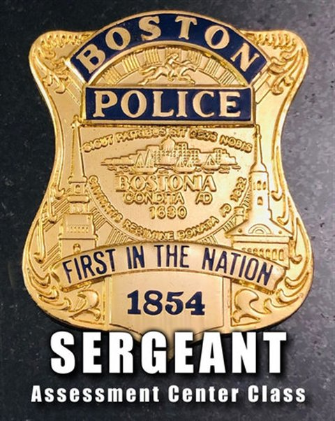 Boston Police Sergeant Assessment Center Class